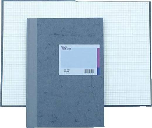 K + E Geschäftsbuch Deckenband/8614222-600P96 A4 kariert 80 g/qm Inh.96 Blatt
