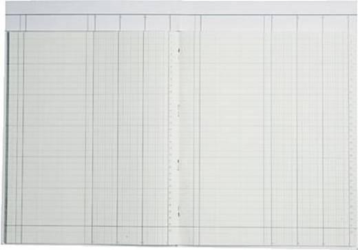 K + E Spaltenbuch m. Kopfleiste/8611031-7103K40KL A4 blau 3 Spalten Inh.40 Blatt