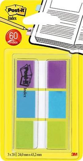 Post-it® Index Etui/680PBGEU pink/blau/grün