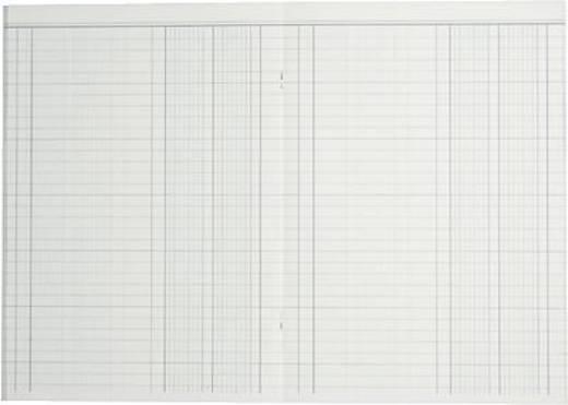 K + E Spaltenbücher fester Kopf/8614511-614K40 A4 blau 2 Spalten Inh.40 Blatt