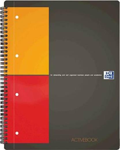 Oxford Collegeblock Activebook/357001411 A5+ kariert 80g/qm Inh.80 Blatt