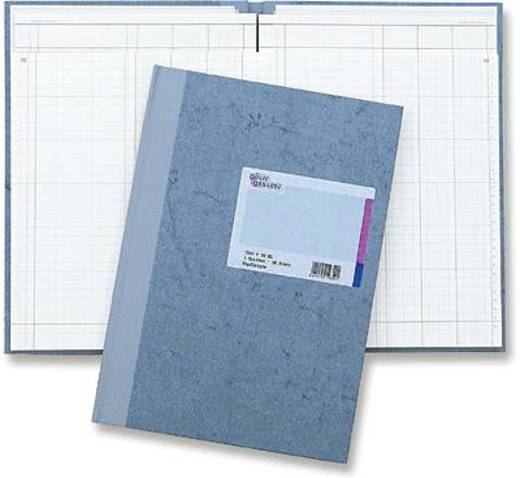 K + E Spaltenbuch Deckenband/8611032-7103P96KL A4 blau 3 Spalten Inh.96 Blatt
