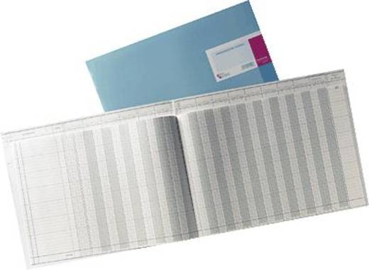 K + E Amerikanische Journale/8617701-8320K48KL 530x332 mm hellblau Inh.48 Blatt