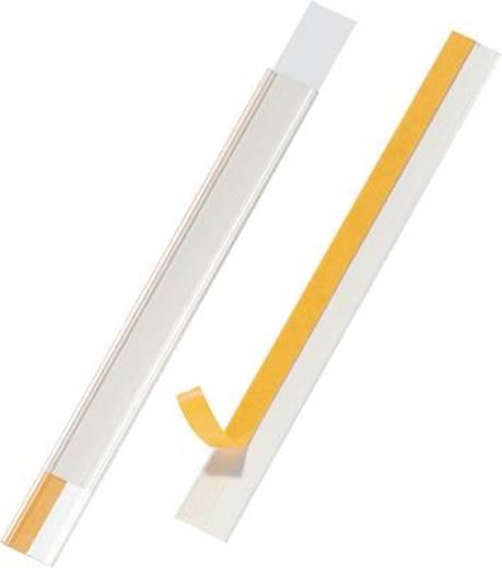 Durable Regalbeschriftung Scanfix/8044-19 20 mm farblos Inh.5
