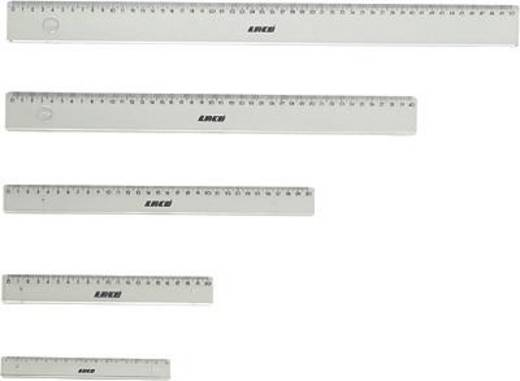 LACO Bürolineale klar/401-20 20cm