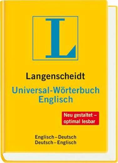 Langenscheidt Universalwörterbuch Englisch/9783468181283 72x104 mm 640 Seiten