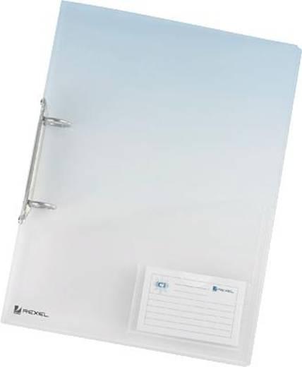 Acco Ringbuch ICE Serie/2102045 A4 klar flexibel inkl. Innentasche, 2-Ring