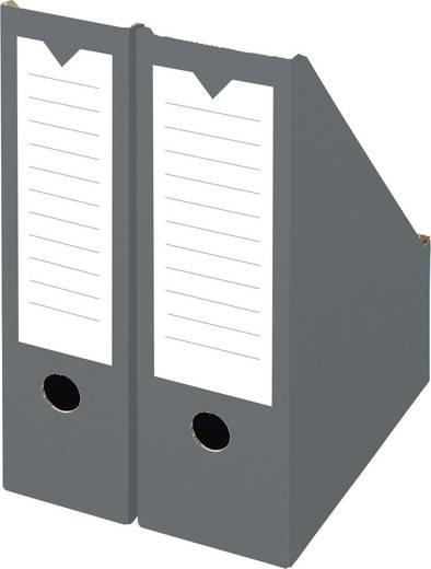 Smartboxpro Stehsammler breit/152499124 100x265x325mm anthrazit/weiß