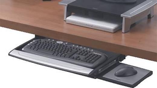 Tastatur Untertischeinschub Fellowes 8031201 Schwarz Silber