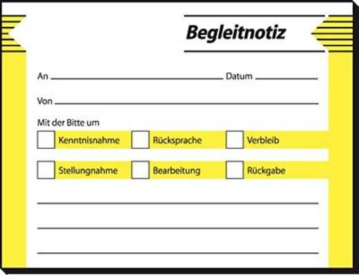 sigel Begleitnotiz/HF142 100x 75 mm Inh.50 BL
