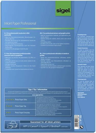 Sigel Inkjet Paper Professional IP182 Tintenstrahl Druckerpapier DIN A4 120 g/m² 50 Blatt Hoch-Weiß