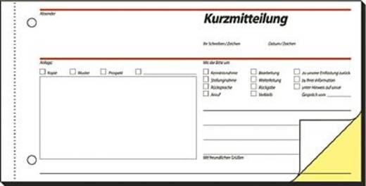 Sigel Kurzmitteilung/SD008 1/3 A4 q Inh.2x40 BL