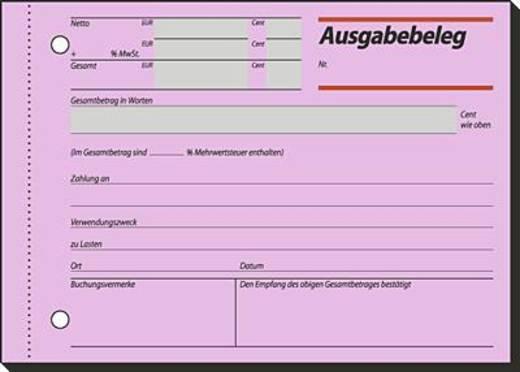 Sigel Ausgabebeleg/AG615 A6 q Inh.50 BL