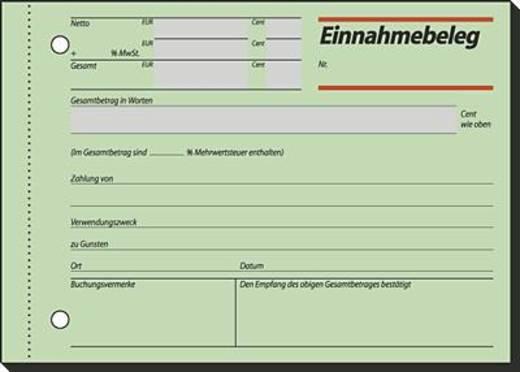 Sigel Einnahmebeleg/EB615 A6 q Inh.50 BL