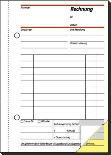 Sigel Rechnung/SD033 A6 h Inh.2x40 BL