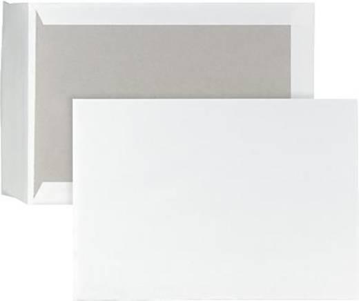 Papprückwandtaschen B4, HK/P40260 weiß 120 g/qm Inh.100