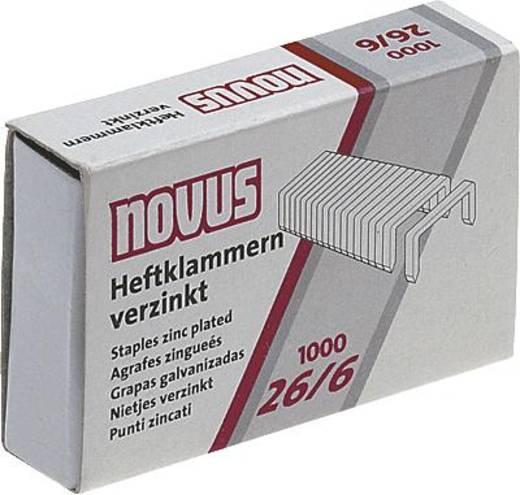 Novus Heftklammern/040-0056 26/6 Inh.1000