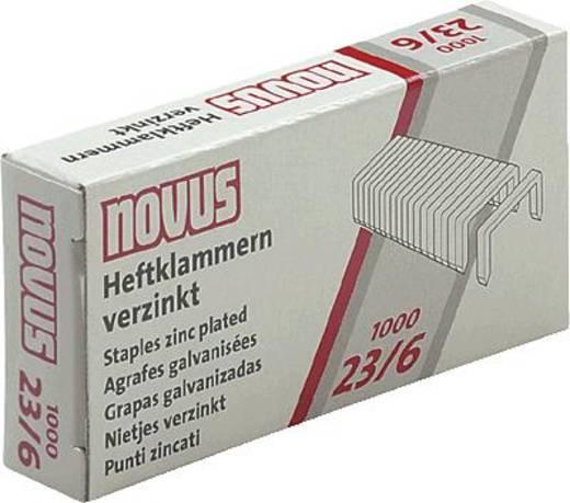 Novus Heftklammern/042-0039 23/6 Inh.1000
