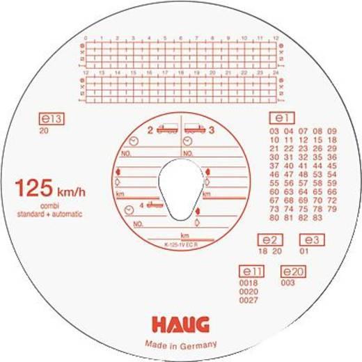 RNK Tachoscheiben 125 km/h Automatic, Haug-Nr. 125 151/3101 Ø12cm Inh.100