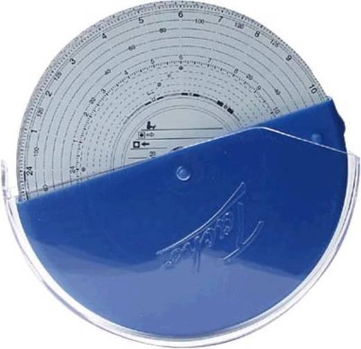 RNK Diagrammscheiben-Sammelbehälter/3099 Ø14 cm blau