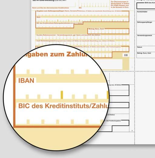 Sigel PC-SEPA-Überweisung/ZV572 A4 OCR-Spezialpapier, MP 90 g Inh.250 BL