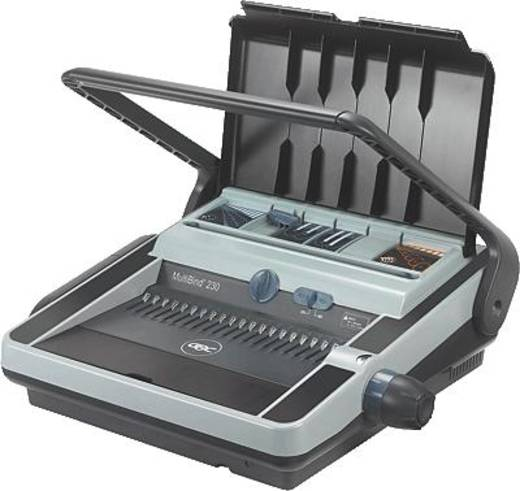 GBC Plastikbindegerät, Drahtbindegerät 4400423 (B x H x T) 525 x 200 x 450 mm DIN A4 Bindekapazität (max.): 450 Blatt