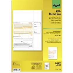 Image of Sigel Überweisung Formular SEPA-Überweisung DIN A4 Anzahl der Blätter: 100 ZV570
