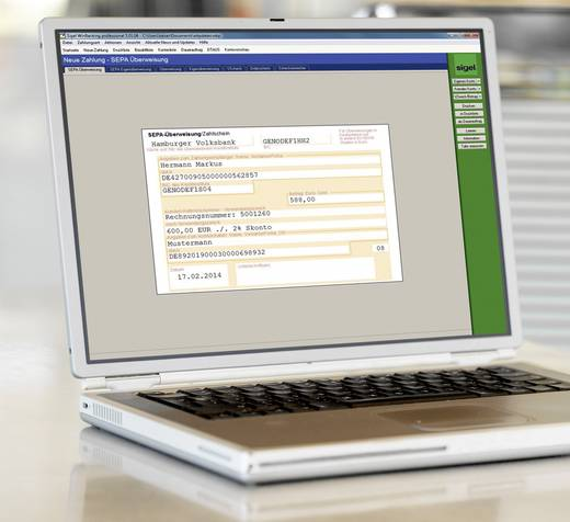 Sigel Überweisung Formular SEPA-Überweisung DIN A4 Anzahl der Blätter: 100 ZV570