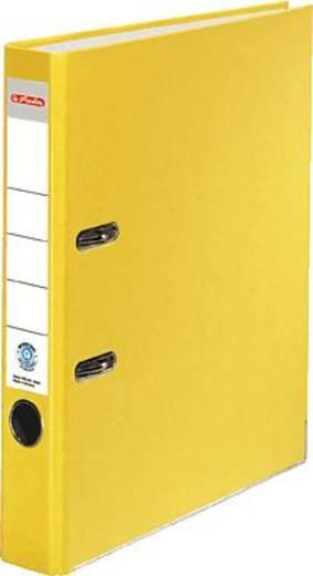 Herlitz Ordner Recycolor/10841682 A4 gelb