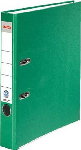 Herlitz Ordner Recycolor/10841666 A4 grün