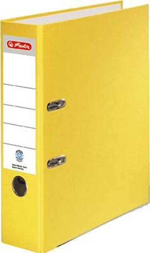 Herlitz Ordner Recycolor/10841534 A4 gelb