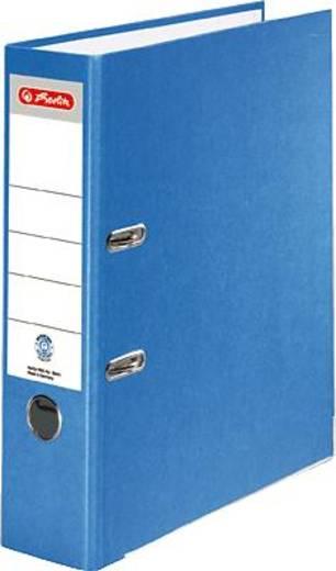 Herlitz Ordner Recycolor/10841393 A4 blau