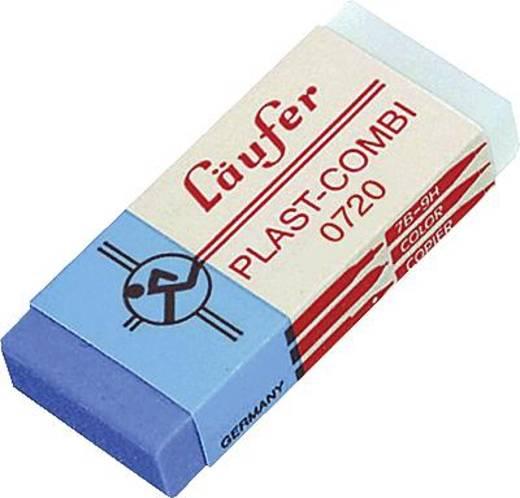 Radierer LÄUFER PLAST-COMBI/0720 65x21x12mm