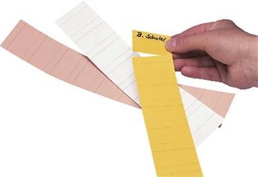 Ultradex Steckkarten für Planrecord/140702 7cm gelb Karton 190 g/qm Inh.90