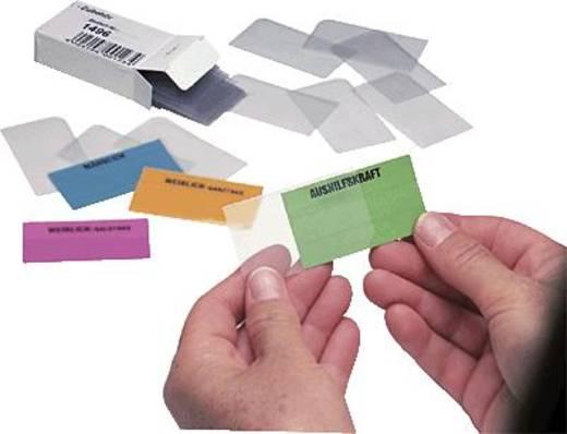 Ultradex Schutzhüllen für Einsteckkarten/1496 6cm transparent Kunststoff Inh.50