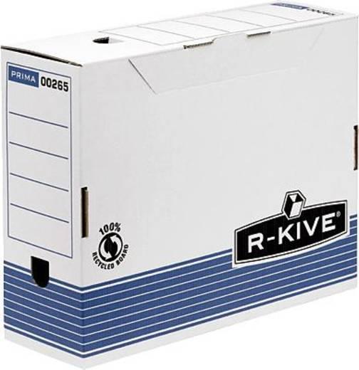 Fellowes Archivbox 100 R-Kive Prima/0026501 BxHxT 105x311x255 mm blau/weiß