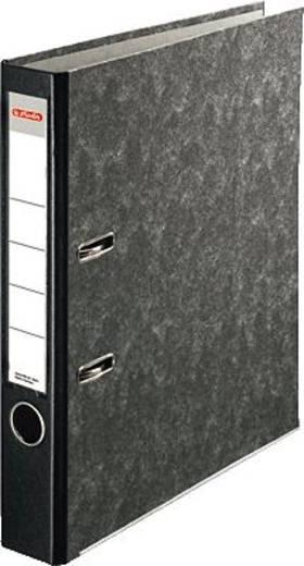Herlitz Ordner Recycling Plus/10900264 für DIN A4 schwarz 50mm