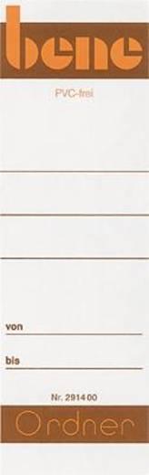 Bene Einsteckrückenschilder/291460 breit Inh.10