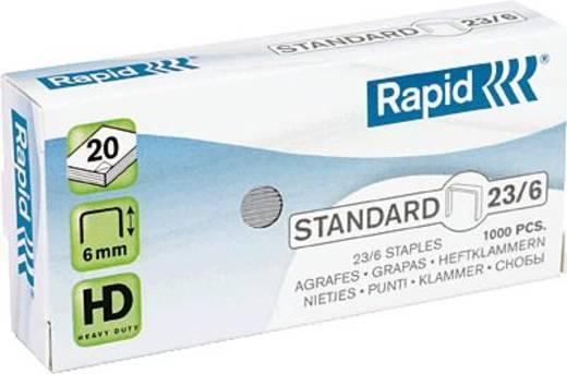 Rapid Heftklammer 23/6 1M/23372500 Inh.1000