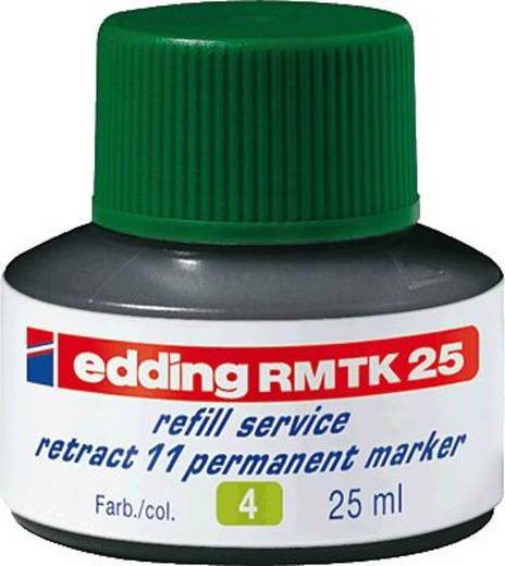 Edding e-MTK 25 refill service perm.marker/4-MTK25004 grün Inhalt 25 ml