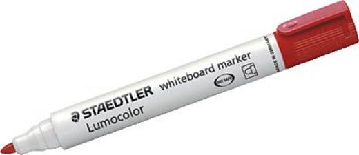 STAEDTLER Lumocolor Whiteboardmarker 351/351-2 rot 2 mm