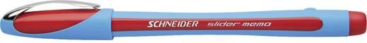 Schneider Kugelschreiber Slider Memo XB 150202 rot, hellblau 1,4 mm