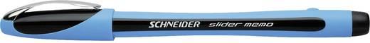 Schneider Kugelschreiber Slider Memo XB 150201 schwarz, hellblau 1,4 mm