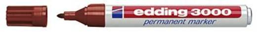 edding Permanentmarker 3000/4-3000007 braun