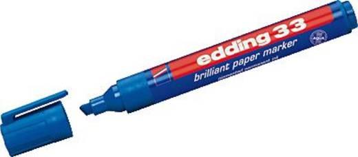edding 33 brilliant paper marker/4-33003 blau