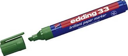 edding 33 brilliant paper marker/4-33004 grün