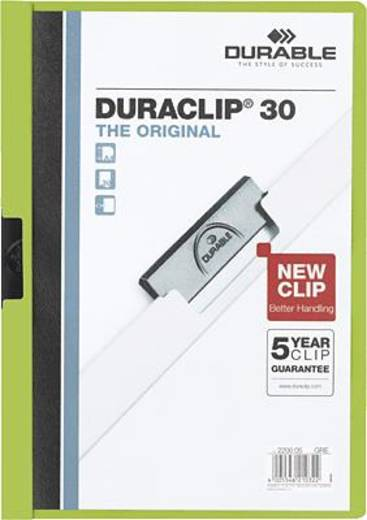 Durable DURACLIP Original 30/2200-05 DIN A4 grün