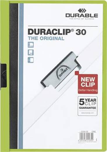 Durable Klemmmappe DURACLIP 30 DIN A4 Grün 220005