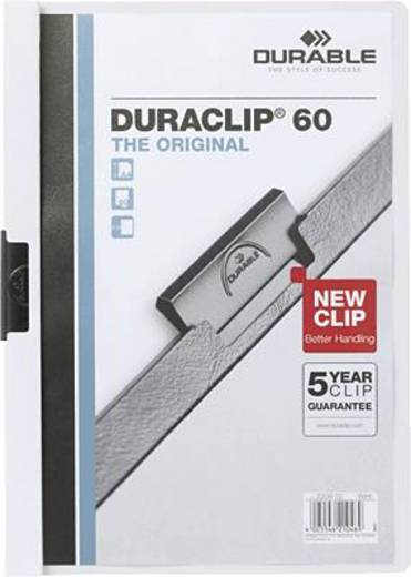 Durable DURACLIP Original 60/2209-02 DIN A4 weiß