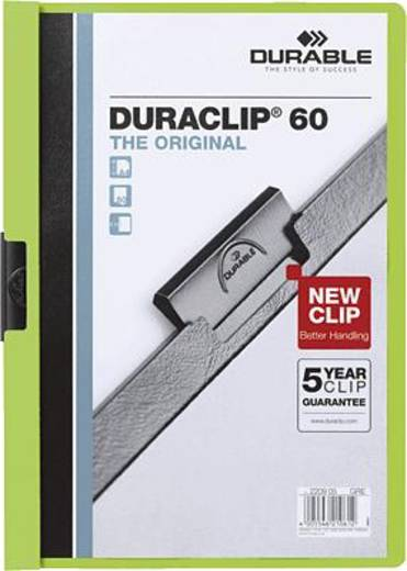 Durable DURACLIP Original 60/2209-05 DIN A4 grün